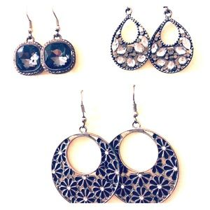 Jewelry - Lot of 3 earring sets for $8